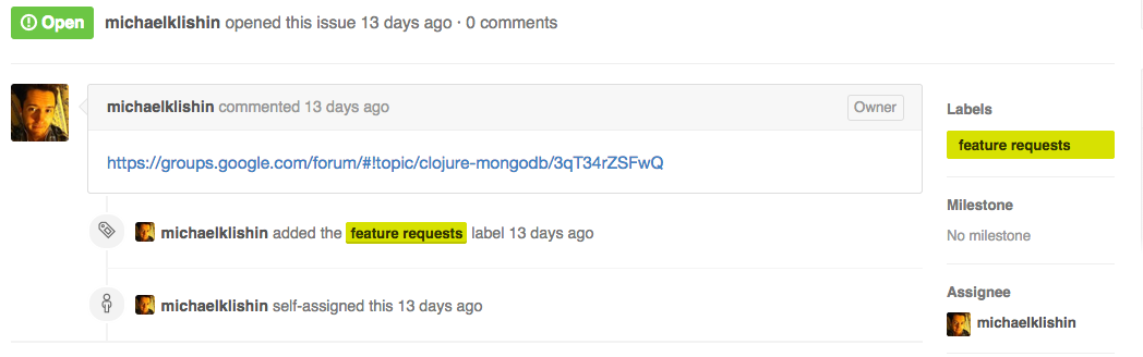 Why use Github and also Google Groups for an open source